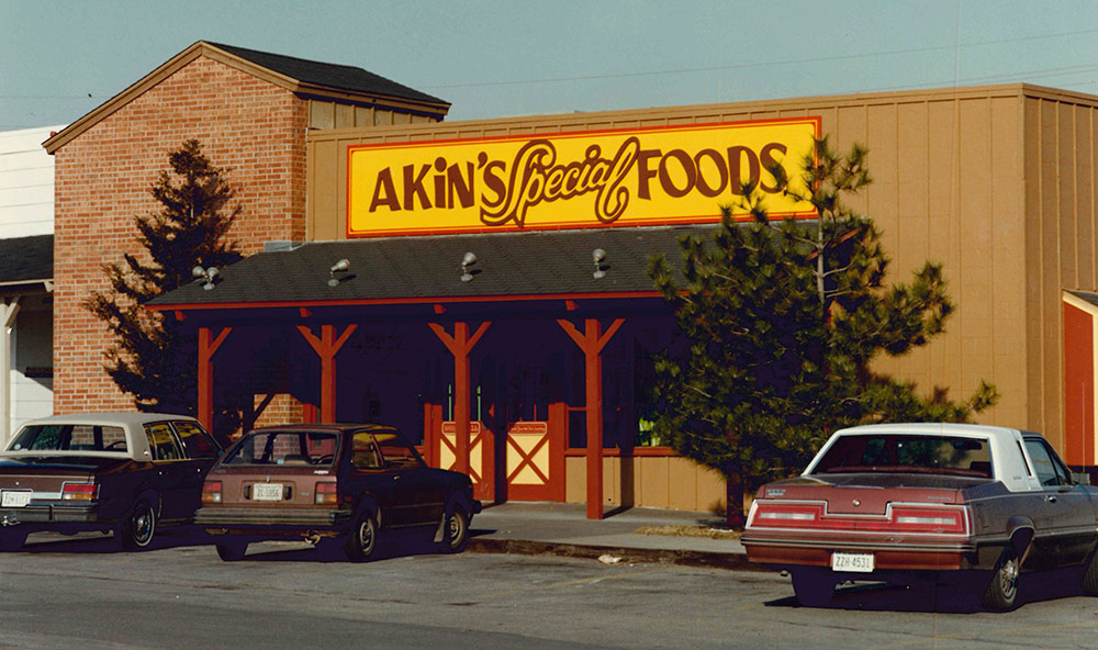 Photo of storefront from the 1970s